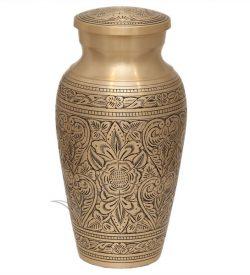 U8698 Brass urn