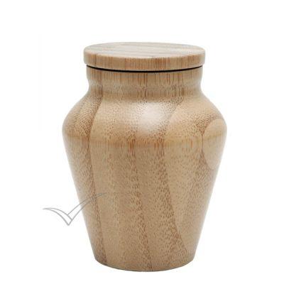 U4220K Urne miniature en bambou