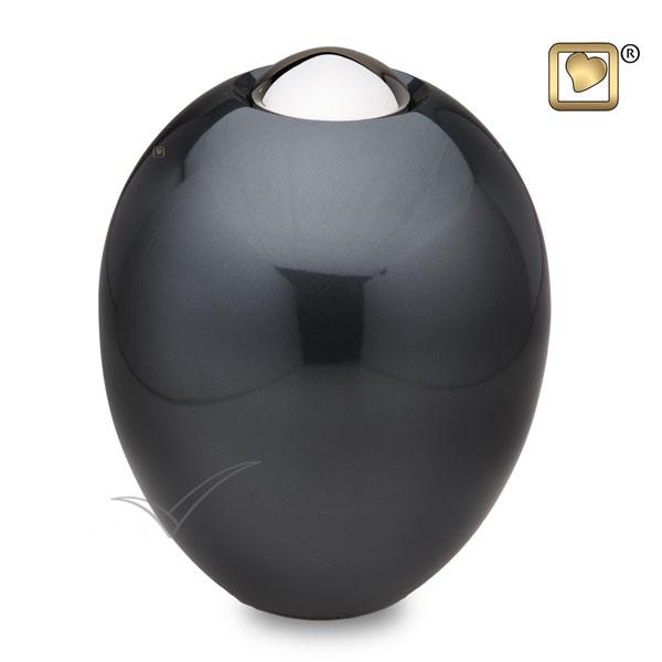 U8716 Urne en laiton de forme ovale
