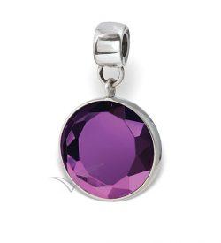 J0324 Purple bead or pendant