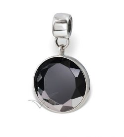 J0327 Black bead or pendant