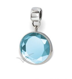 J0330 Light blue bead or pendant
