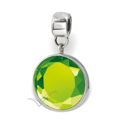 J0333 Light green bead or pendant
