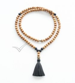 J0350 Tassel mala necklace