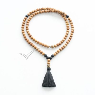 J0350 Tassel mala necklace