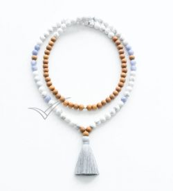 J0355 Tassel mala necklace