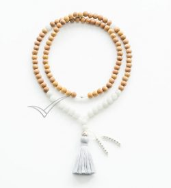 J0365 Tassel mala necklace