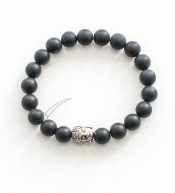 J03711 Mala bracelet with Buddha head