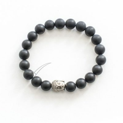 J03711 Bracelet Mala doté de tête de Bouddha
