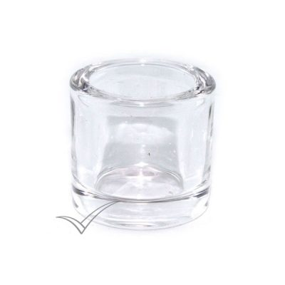 M500020 Clear candle holder