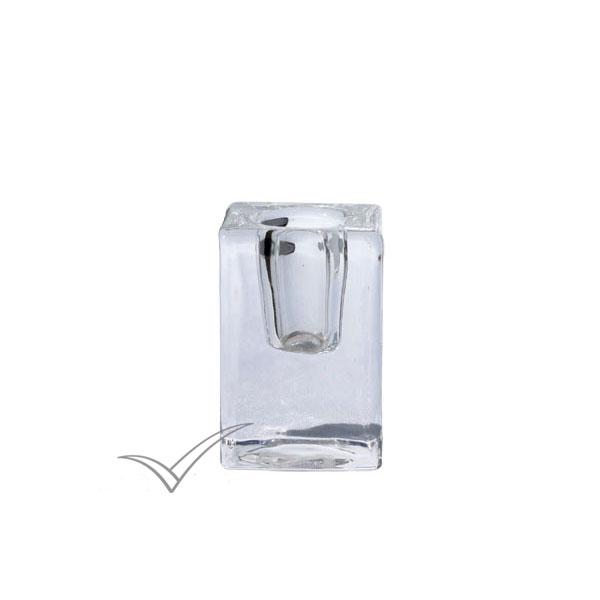 M500023 Chandelier en verre transparent
