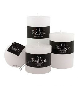 M500110 White pillar candle