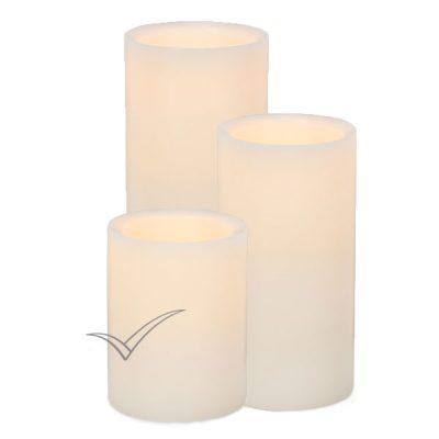 M500500 Pillar LED candles
