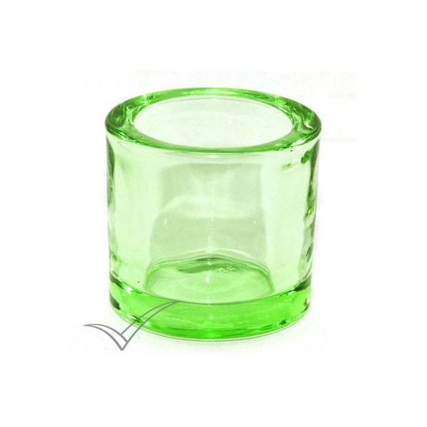 M503120 Chandelier en verre de couleur verte