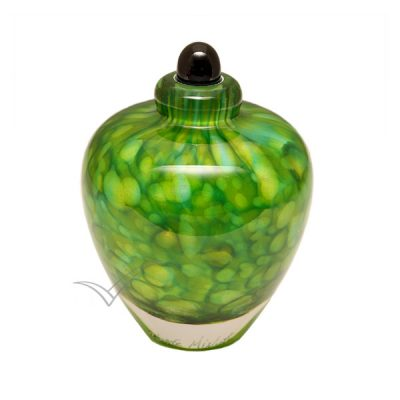 U8203K Glass miniature urn