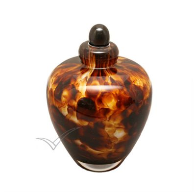 U8204K Glass miniature urn