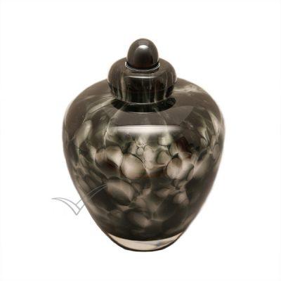 U8205K Glass miniature urn