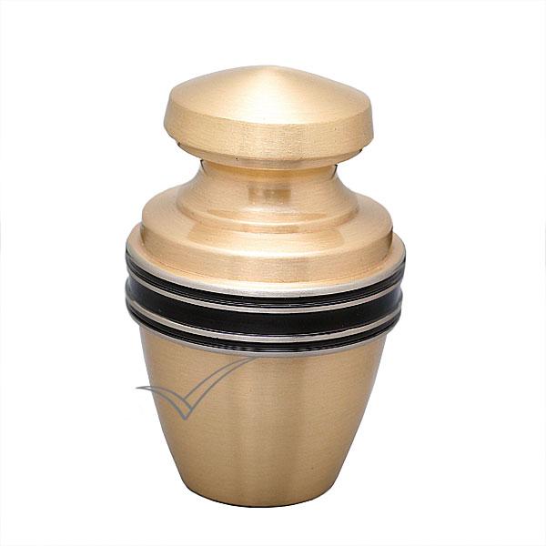 U86594K Urne miniature en laiton doré