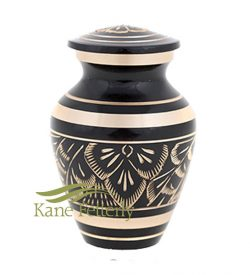 U86720K brass miniature urn