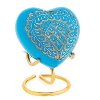 U86721H Urne miniature en coeur