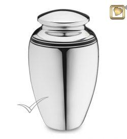U8736 Silver urn
