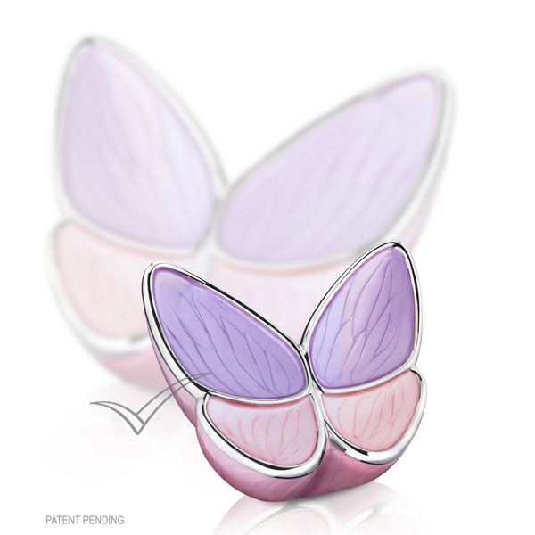 U8811K Urne miniature papillon