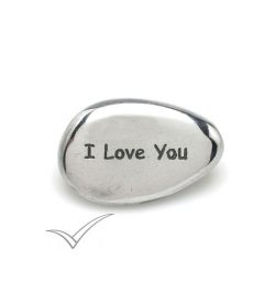 "M511302 ""I Love You"" pebble"